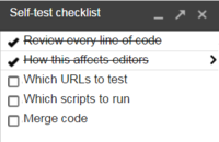 Efficient QA workflows: a checklist for testing your own code