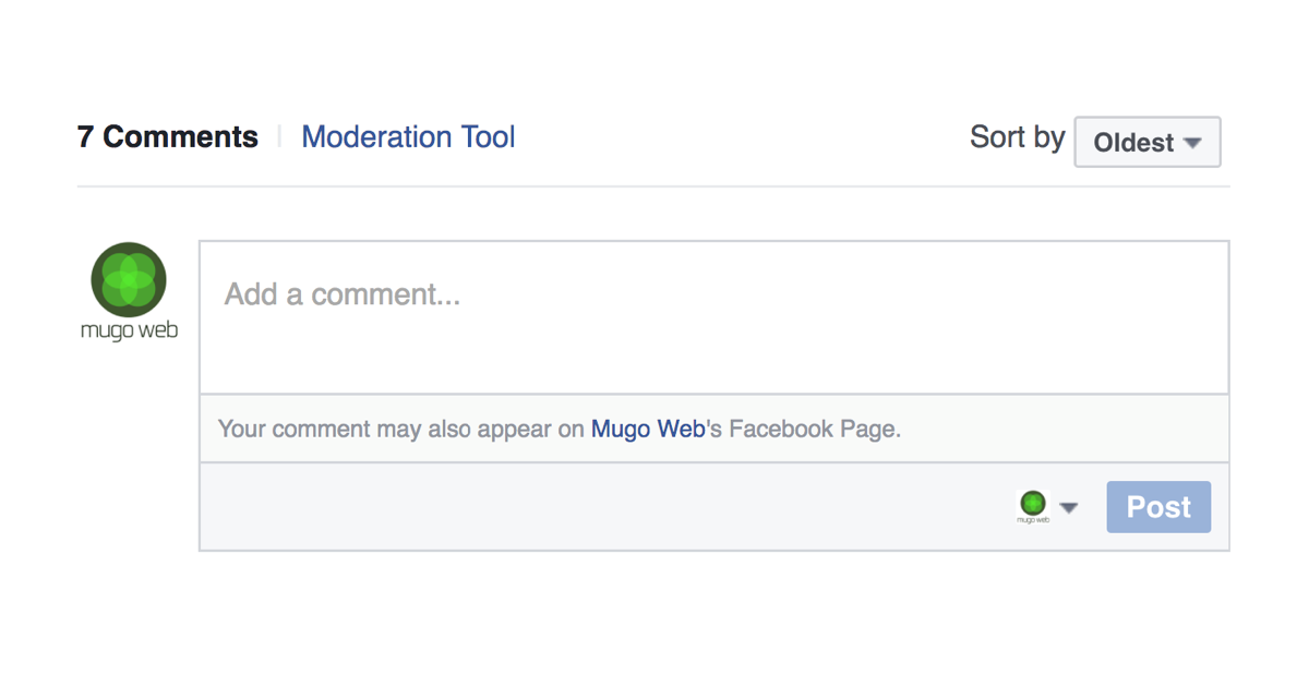 Getting Started With Facebook Comment Mirroring