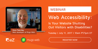 You're invited to join us for a web accessibility webinar