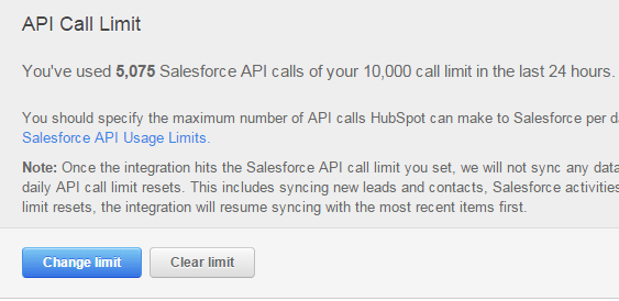 Managing Salesforce and HubSpot storage and API limits