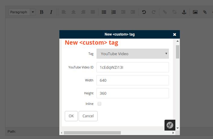 Custom tags in eZ Platform with legacy bridge without XSL